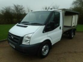 2011 FORD TRANSIT 2.4TDCI 140BHP MWB FLATBED MILK FLOAT BODY TRUCK NO VAT