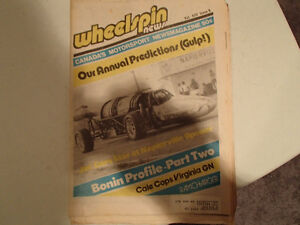 Collection of 6 Vintage WHEELSPIN NEWS Canada's Motorsport News Sarnia Sarnia Area image 7