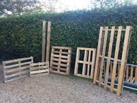 Great Selection Of Various Sized Wooden Pallets