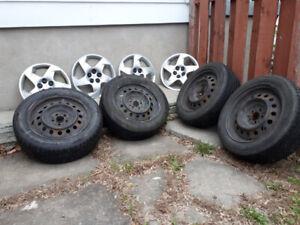 4 roues et pneus pour Pontiac Vibe/Toyota Matrix