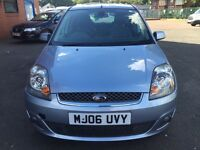 Ford Fiesta 2006 petrol good condition 1.4 manual Low Mileg