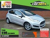 2013 Ford Fiesta 1.25 Zetec 5dr Hatchback Petrol Manual