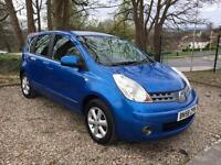 Nissan Note 1.4 16v Acenta **Finance from £77.96 a month**