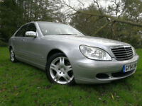 2005 MY54 Mercedes-Benz S350 FULL SERVIE HISTORY HPI CLEAR EVERY EXTRA NEW MOT