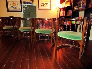 Spindle Back Barrel Chairs