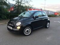 Fiat 500 1.2 Lounge 2009, FULL Fiat Dealer Service History, Pan Roof, Bluetooth, HPI Clear