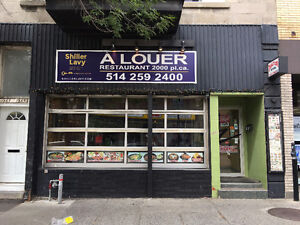 Restaurant Opportunity in Le Plateau-Mont-Royal!