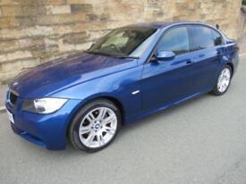 2007 07 BMW 3 SERIES 2.0 320D M SPORT 4D 161 BHP DIESEL