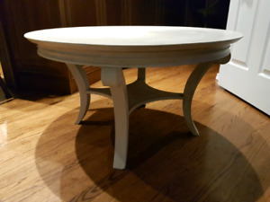 Refinished Bombay coffee table