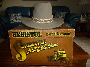 Stagecoach Resistol Hat