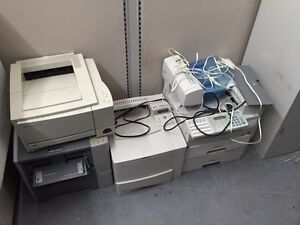 Laser printers and fax machines