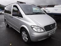 MERCEDES VITO 111 CDI COMPACT SWB DUALINER, Silver, Manual, Diesel, 2010