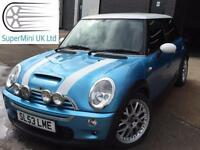 MINI HATCH COOPER S Blue Manual Petrol 2003