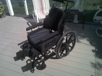 Deluxe Wheelchair for Disabled