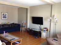 LARGE FURNISHED ROOM ALL INCLUSIVE  MAY 15-AUG 31 $450/MONTH