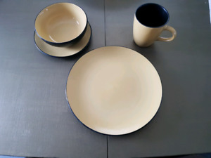 Yellow Corelle Dishes
