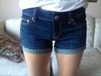 AM EAGLE NEW JEAN SHORTS SZ 4 WITH TAGS
