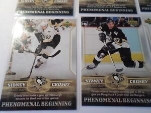 SIDNEY CROSBY HOCKEY CARDS  (7 Cards)   (VIEW OTHER ADS) Kitchener / Waterloo Kitchener Area image 3