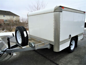 Like New, 2016 Custom Built Enclosed Trailer, Immaculate!