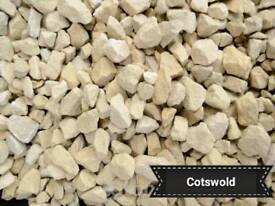 Decorative gravel sold in 20kg bags delivery available