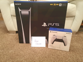 NEW IN BOX. PLAYSTATION 5 CONSOLE PLUS £50 PSN CREDIT WITH RECEIPT