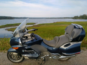 Riding season is coming! Luxury tourer BMW K1200LT