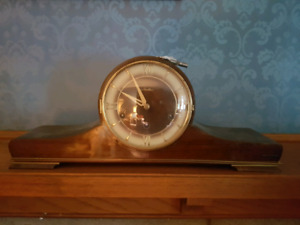 Mauthe Mantle clock with key - Art Deco