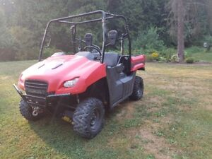 2012 Honda UTV Side by Side Big Red