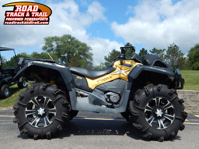 2013 Can-Am® Outlander™ X® mr 1000    Black / Yellow
