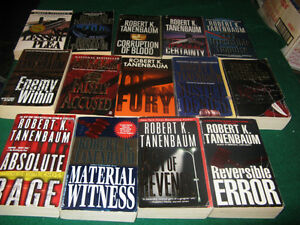 Robert Tanenbaum books  $10 for the lot