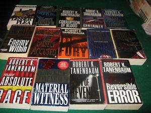 Robert Tanenbaum books $1 each or $10 for the lot