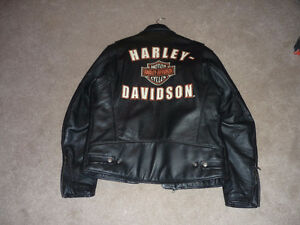 Harley Davidson Leather Jacket sz Large