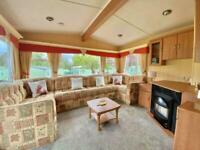 BARGAIN STATIC CARAVAN FOR SALE ON THE WEST COAST OF SCOTLAND, SHORT DRIVE FROM