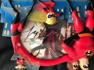 Autographed Spider-Man picture