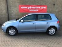 2010 VW GOLF S TDI, 1 YEAR MOT £30 TAX, FULL SERVICE HISTORY, NOT A3 ASTRA FOCUS MEGANE