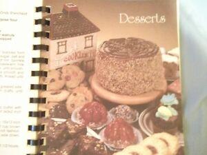 beautiful memento Memorial Park Public School cookbook Cornwall Ontario image 3
