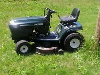 WANTING TO PURCHASE A RIDING LAWNMOWER