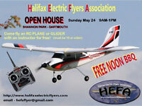 RC Open House - Come fly an RC PLANE or GLIDER, free! Free BBQ!
