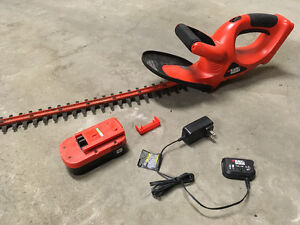 hedge trimmer- cordless