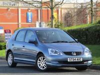 Honda Civic 1.6 i-VTEC 2005 SE 5 door Auto..6 SERVICE STAMPS +WARRANTY+NEW MOT