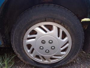 Artic Claw Winter tire w/ rims