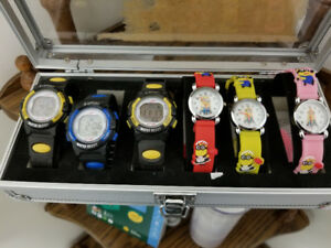 Digital LED kids Watches and Analog Minion Watches