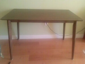 Compact dining table just out of the box this week