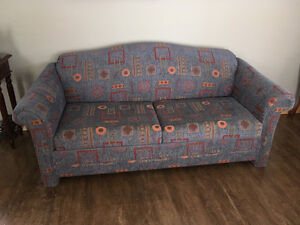 Double hide a bed, love seat