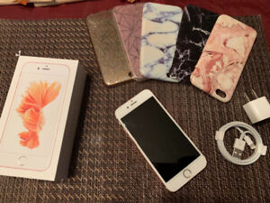 SELLING: iPhone 6s Rose Gold like new