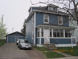 DOWNTOWN MONCTON UP AND DOWN DUPLEX WITH GARAGE