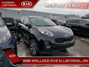 2019 Kia Sportage SX Turbo  - Navigation -  Heated Seats