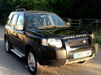 Land Rover freelander SE leather auto diesel