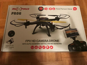 rc pro pro6 frv hd camera drone