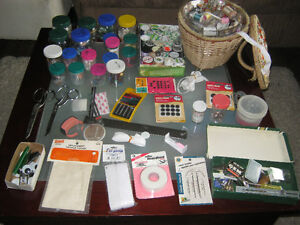 Large collection of sewing notions - $25